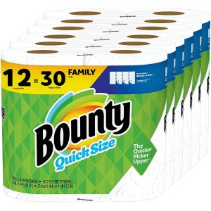 Bounty厨房纸巾12大卷