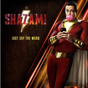Buy 3 Tickets for $20DC Superhero Shazam! Movie Ticket Sales @Atom