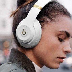 $219.99(原价$399.99) 劲爆优惠Beats Studio 3 蓝牙无线耳机 9款低调清新炫酷百搭颜色可选