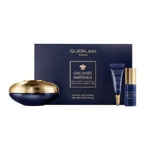 Guerlain限量版御廷兰花逆龄面霜套装 (价值$572)