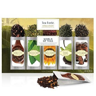 $12.92Tea Forté SINGLE STEEPS World Of Teas Loose Leaf Tea Sampler @ Amazon