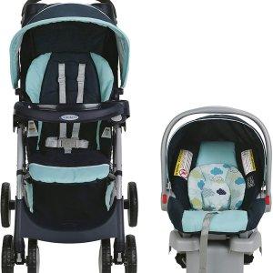 $199.97 (原价$257.99)Graco Connect 四轮婴儿推车 + 提篮/安全座椅套装