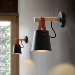 LED Wood Wall Lamp - ApolloBox