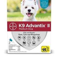 K9 Advantix II 中型犬体外驱虫剂