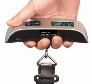 史低价 $10.99BlueBeach 便携电子行李秤