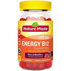 Nature Made维生素B12软糖 1000 mcg 150粒