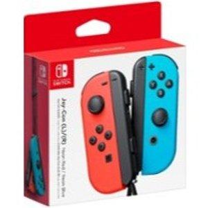 Joy-Con (L/R) Wireless Controllers - Nintendo Switch