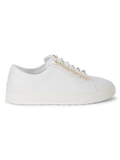 珍珠运动鞋