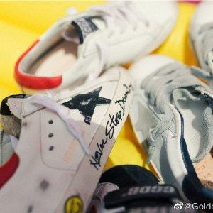 久违7.5折 大童码粉尾$282最后一天:Golden Goose小脏鞋闪促 男女款 黄金码在线冲
