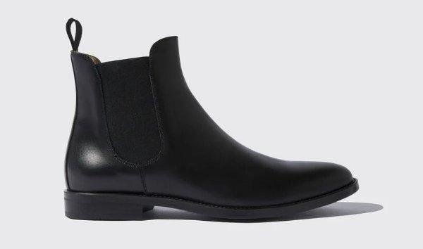 男士黑色短靴