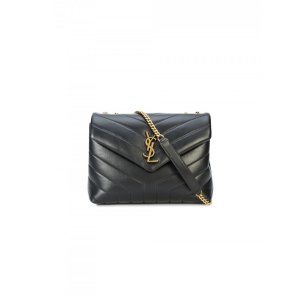 Saint LaurentLoulou Small Leather Shoulder Bag