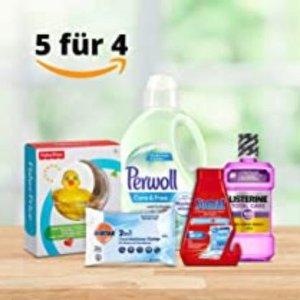 €2.95收擦眼睛纸 消毒用品也参加Amazon 洗护用品买5付4 收男女洗护、清洁用品、日用杂货
