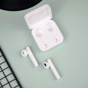 仅售€26 高品质动圈单元小米 Xiaomi Air 2 SE 无线蓝牙耳机热促 Airpods平替