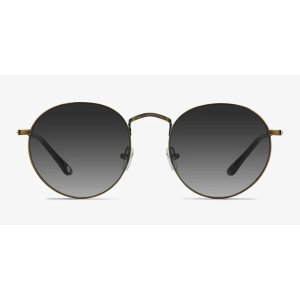 EyeBuyDirectDisclosure | Brown Metal Sunglasses | EyeBuyDirect