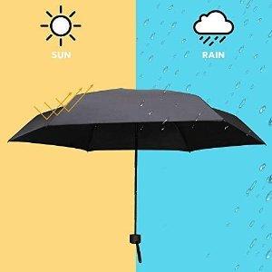 便携mini款仅€9.99Amazon 平价晴雨伞合集 抗风、防紫外线、小巧便携 日常必备