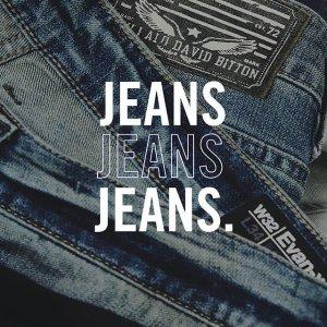低至2.5折+额外8.5折 $25收牛仔裙独家:Buffalo Jeans官网 男女服饰牛仔裤热卖 $8.5收纯棉Tee