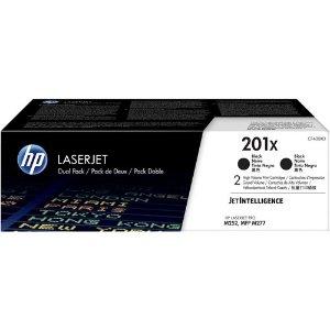 HP201X 2-pack 碳粉