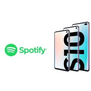 6个月免费使用Samsung S10系列 手机用户 现可领取Spotify Premium 音乐服务