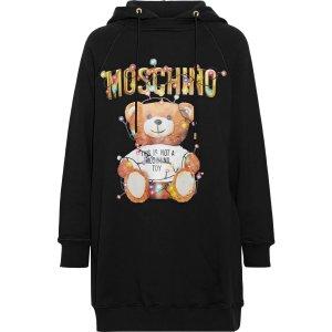 Moschino长款小熊卫衣