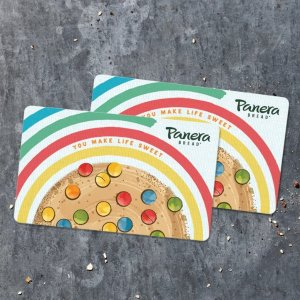 20% OffPanera Bread Gift Card Limited Time Offer