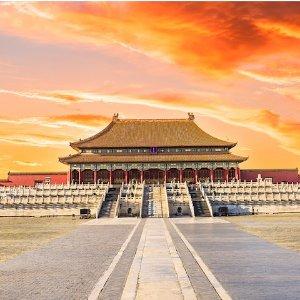 往返$350起  8月-4月日期美国航空/美联航 丹佛--北京 往返机票低价
