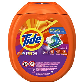 Extra $2 OffTide Pods Liquid Laundry Detergent Pacs Sale