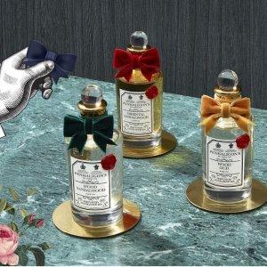 8折 + 返券$20 + 送中样Penhaligon's 英式贵族香氛 皇室御用品牌
