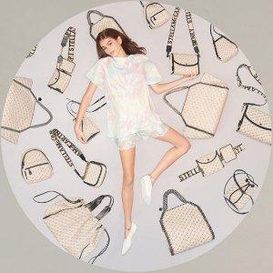 全场6折起 €135收LogoT恤Stella McCartney美衣美包 经典链条包马卡龙色热卖