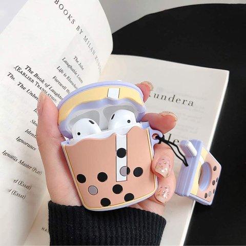 £5.99收封面同款珍珠奶茶保护套Apple Airpods 超萌保护套上新 珍珠奶茶 派大星 等你认领