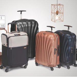 低至5折+额外9折,环球世界必备良物限今天:Samsonite 新秀丽行李箱暑期大促