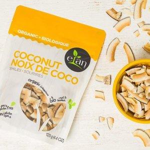只要$2.33ELAN 有机椰子干  让你停不了口的美味零食