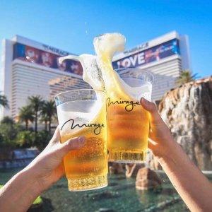 $32/晚起+最高赠$75餐饮券/晚MGM 拉斯维加斯13家酒店重新开放 提供免费停车