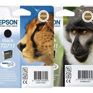 低至6折 14种款式可选Epson 爱普生打印机原装墨盒折扣热卖