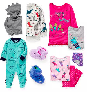 Up to 50% Off + 25% Off $40Unicorns + Dinos Clothes @ Carter's