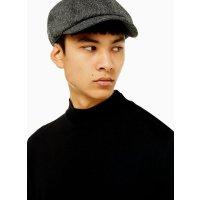 Topman 灰色呢子报童帽