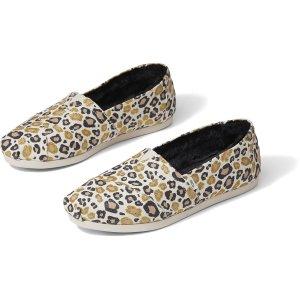 TomsNatural Glitter Cheetah Women's Classics | TOMS