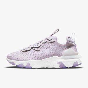 Nike6折,35.5-44.5码全香芋紫 React Vision