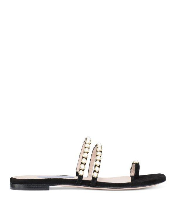 THE PETRINA珍珠凉鞋