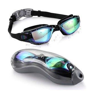 $11.99(原价$15.99)Aegend 防漏防雾防紫外线游泳镜促销 男女童款全都有