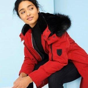 低至3折Vince Camuto 精选秋冬大衣、夹克、羽绒服热卖