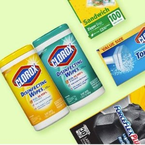 30% off + $10 off $40 + Buy 5 Save $6Select Household Essentials on Sale @ Amazon Pantry