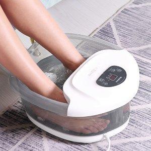 $69.99(原价$81.99)MaxKare 3合1多功能足浴盆 带加热功能 家庭养生SPA必备