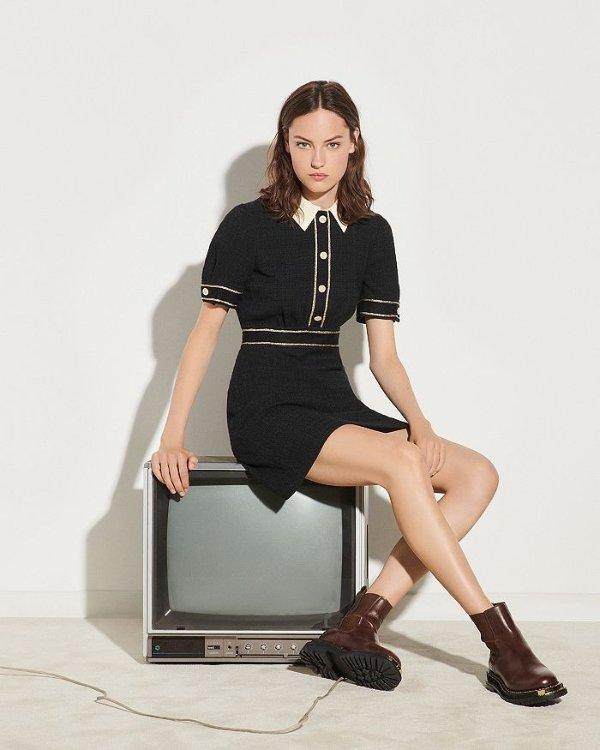 Lorine Tweed 连衣裙