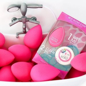 8折 套装$36起Beautyblender 精选美妆用具热卖 收美妆蛋清洁套装