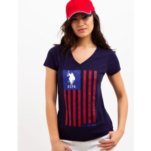 US Polo AssociationBuy 3 Tees Get 25% OffVERTICAL FLAG TEE