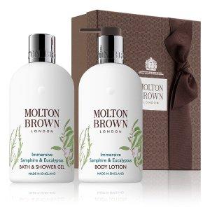 Molton Brown海篷子与桉树洗浴套装