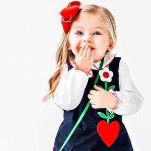 满$200立减$50 奥巴马夫妇的选择Florence Eiseman 精致儿童服饰热卖,经典美式设计