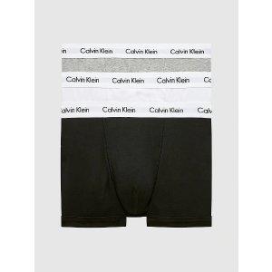 Calvin Klein平角内裤3条装