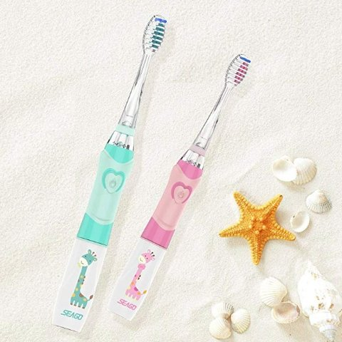 SEAGO Kids Electric Toothbrush Sonic Toothbrush