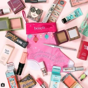 Buy 3 minis get the 4th freePlus free limited edition stocking @ Benefit Cosmetics